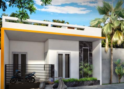 desain rumah minimalis modern  lantai  kamar tidur