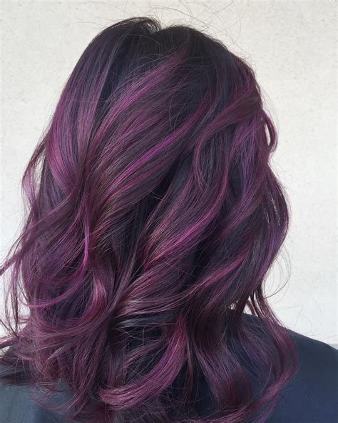 Black And Purple Hair Styles Have Recently Evoked Interest