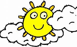 Best Partly Cloudy Clipart #10539 - Clipartion.com