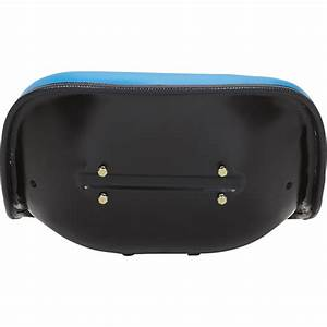 K  U0026 M Replacement Vinyl Seat For Ford Tractors  U2014 Blue