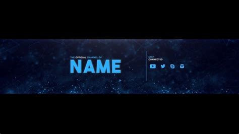channel banner template channel banner best business template