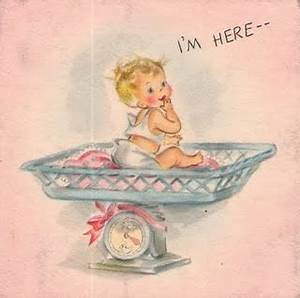 17 Best images about Vintage birth announcements on Pinterest