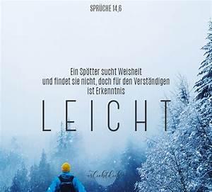 Sprüche Winter Schnee : bibelspr che f r den alltag spr che 14 6 er liebt dich ~ Watch28wear.com Haus und Dekorationen