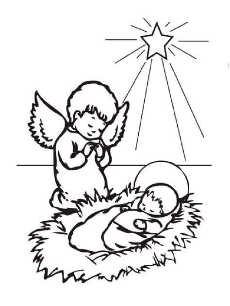 christmas angel coloring pages  printable christmas