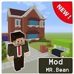 Minecraft Bean Mod Mr Mcpe Boniface Apk