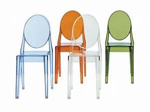 Chaise Transparente Fly : table rabattable cuisine paris chaise starck pas cher ~ Teatrodelosmanantiales.com Idées de Décoration