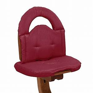 Svanr high chair cushion in red buybuy baby for Bed bath beyond gel seat cushion
