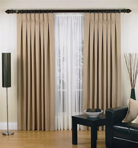 fresco of inverted pleat drapes that will smarten your
