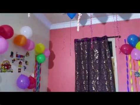 birthday decoration  home youtube