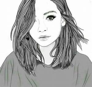 The Most Incredible short hair girl drawing tumblr with ...