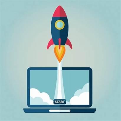 Launch Vectors Website Vector Psd