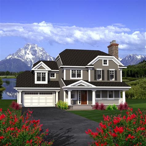 Howe Twostory Country Home Plan 051d0791  House Plans