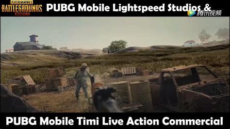 Pubg Mobile Lightspeed & Timi Studio Live Action Film Commercial Promo