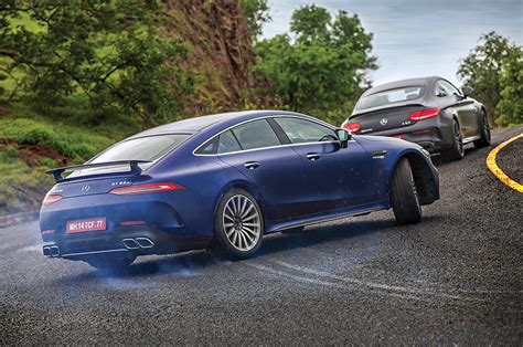 The gt s is the variant that is coming to india and it churns about 510bhp of power. Mercedes-AMG C 63 Coupe, GT S 63 4-Door Coupe review on Indian roads - Feature - Autocar India