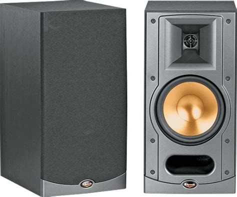 klipsch bookshelf speakers klipsch rb 25 bookshelf speakers review and test