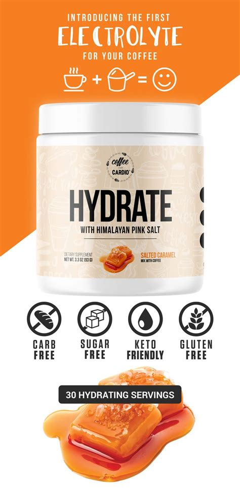 High quality coffees & creamers ☕️ cinna bun, chocolate donut, bday cake no sugar! Hydrate - Electrolyte for your Coffee/Water | Salted ...