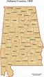 Alabama Maps - Historic