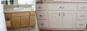 how to paint oak bathroom cabinets white savaeorg With kitchen cabinets lowes with hand painted canvas wall art