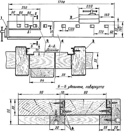 folding bench model construction