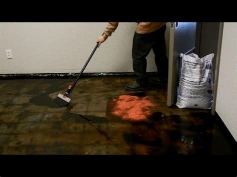 remove  tile glue  concrete floor