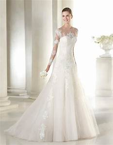 elegant lace bridal dress st patrick seattle style With wedding dresses seattle
