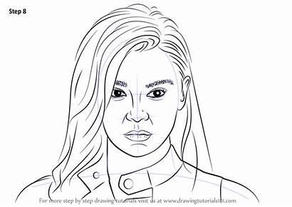 Draw Hailee Steinfeld Step Drawing Celebrities Tutorials