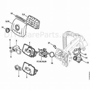 Stihl Ms 193 Chainsaw  Ms 193 T   Parts Diagram  Ms193t