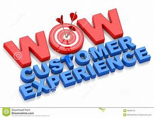 Wow Customer Experience Stock Illustration - Image: 48460744
