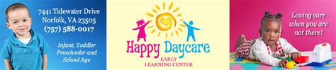 day childcare providers parentcircle 445 | logo Happy DayCare Banner