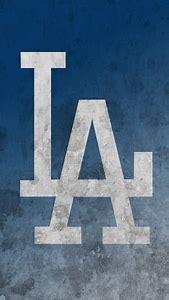 LA Dodgers Logo IPhone Wallpaper