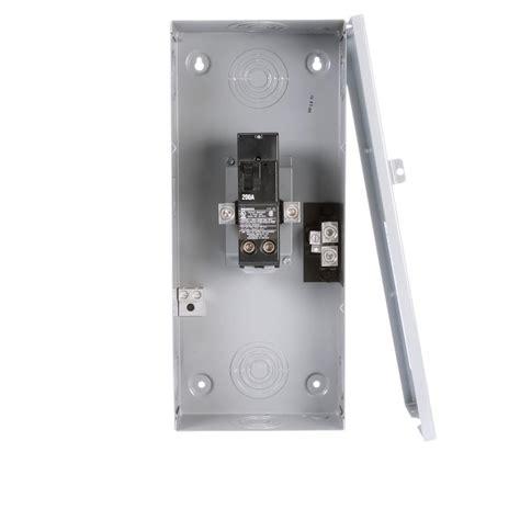 Siemens Amp Space Circuit Small Main Breaker