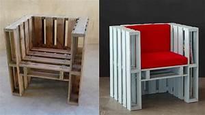 Chaise Avec Palette Bois