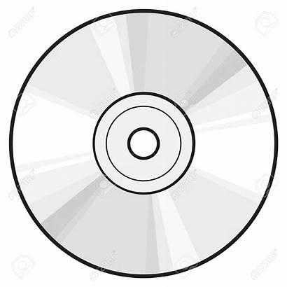 Cd Dvd Clipart Blank Disc Disk Vector