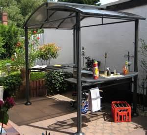 Grill überdachung Holz : grillpavillon grill berdachung 225x160cm bei ~ Buech-reservation.com Haus und Dekorationen