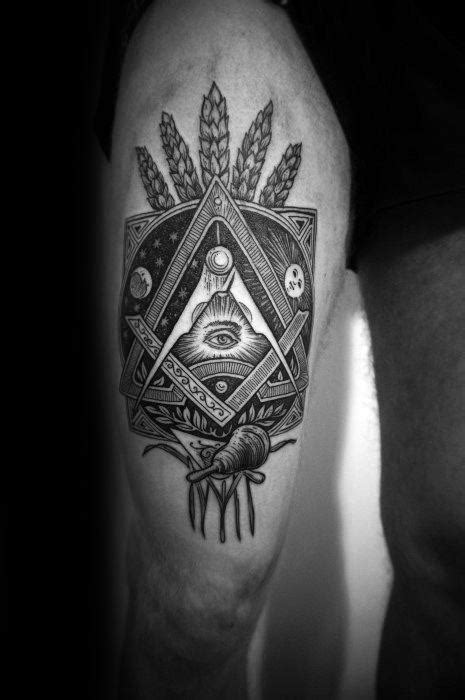 esoteric tattoos  men obscure design ideas