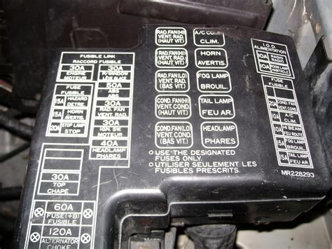 Fuse Box Wiring Diagram Color Codes Dsmtuners