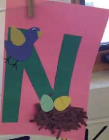 Letter N Preschool Craft
