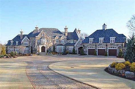5 5 million european inspired stone mansion in cumming