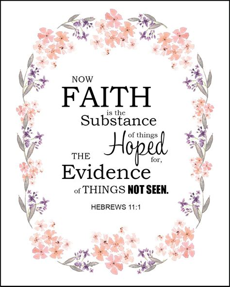 But the triumphant church is the biblical perspective of the body of christ seated with christ in heavenly places far a. Hebrews 11:1 Faith is the Substance of Things Hoped - Free Bible Art - Bible Verses To Go