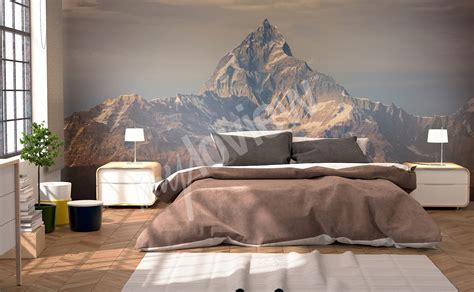papiers peints montagnes mur aux dimensions myloview fr