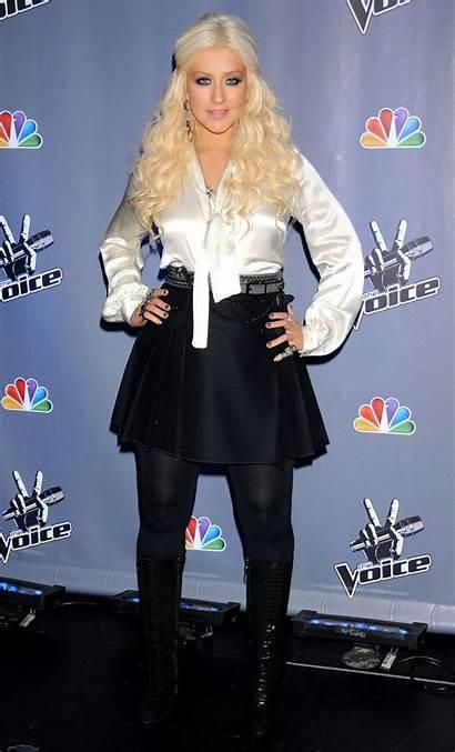 Christina Aguilera Voice Season Hawtcelebs Imgth