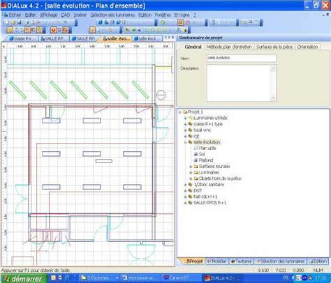 perfectionnement 224 la manipulation du logiciel dialux pour un projet d 233 clairage int 233 rieur