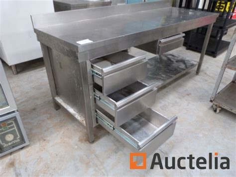 table de cuisine inox table de cuisine en inox