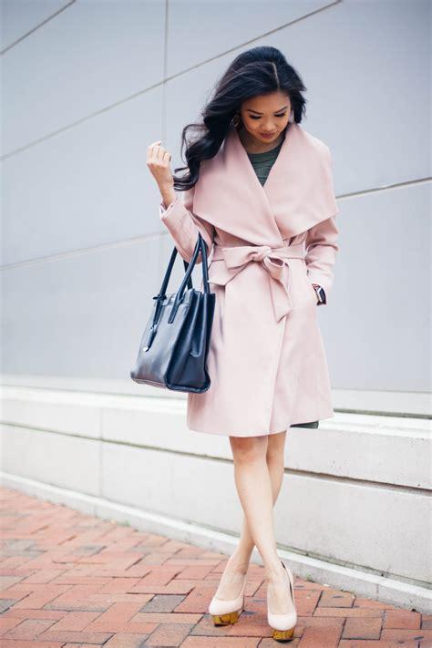 blush olive  dress  work  color chic