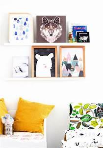 Bilder Für Kinderzimmer : kinderzimmer gestalten neue bilder f r die wandgestaltung ~ Markanthonyermac.com Haus und Dekorationen
