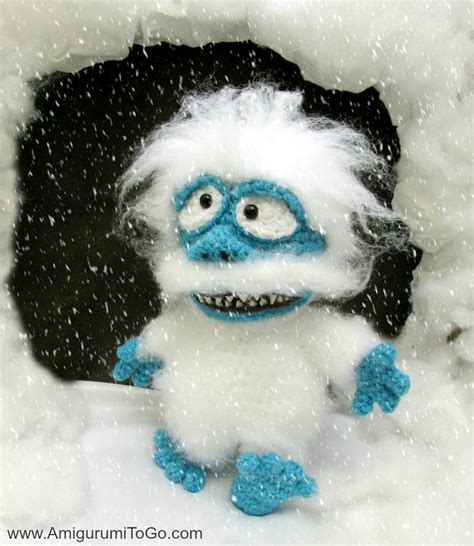 bumble abominable snow monster amigurumi film  sojala