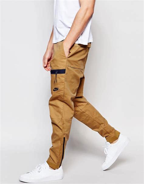 jogger zipper di kaki zipper bonded woven from nike style clothes