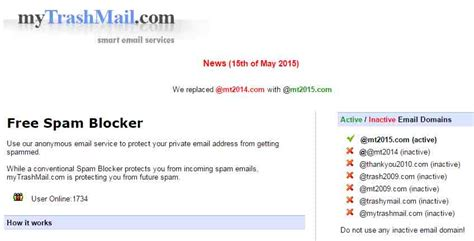 top   websites  send anonymous email