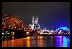 Köln Bilder Kaufen : skyline k ln foto bild architektur architektur bei nacht at night bilder auf fotocommunity ~ Markanthonyermac.com Haus und Dekorationen