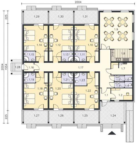 plano de hotel pequeno architecture desings en